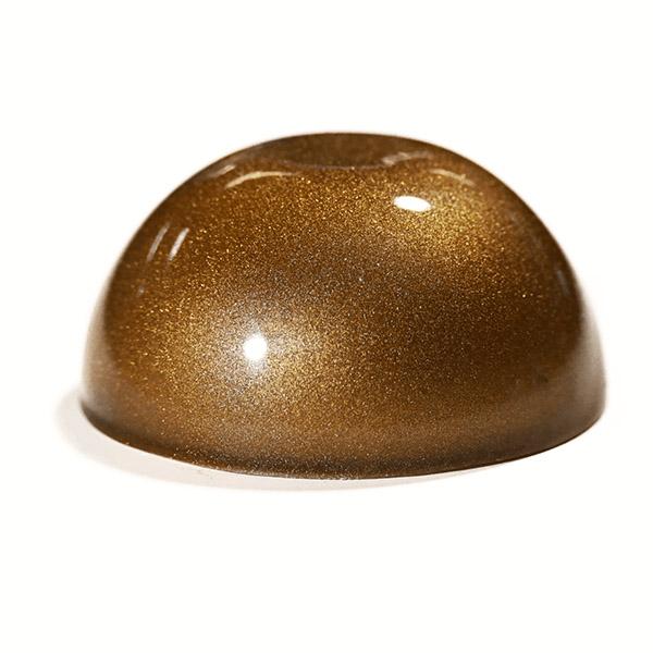 Epoxy - Art - Metallic Marble - Brass