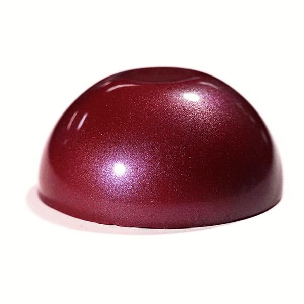 Epoxy - Art - Metallic Marble - Crimson Red