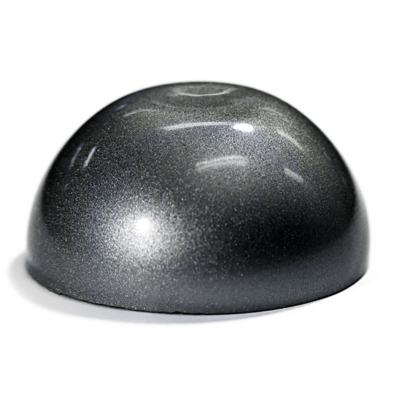 Epoxy - Art - Metallic Marble - Silver