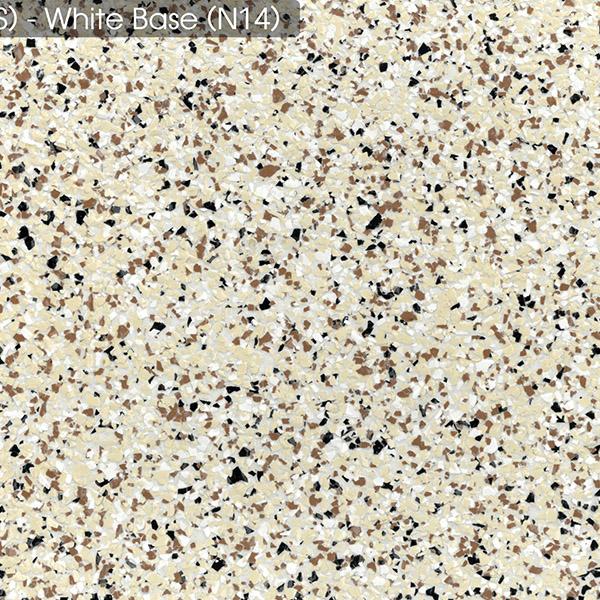 Epoxy - Ultraflake - Desert White - Small