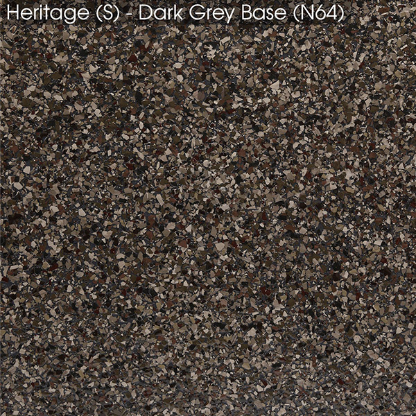 Epoxy - Ultraflake - Heritage on Dark Grey