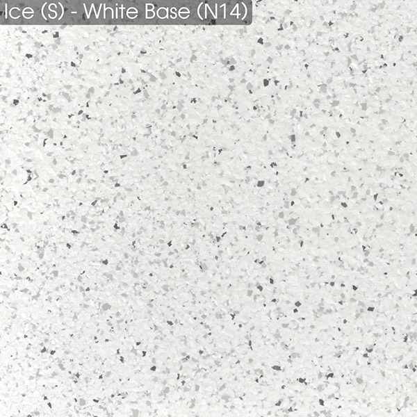 Epoxy - Ultraflake - Ice White - Small