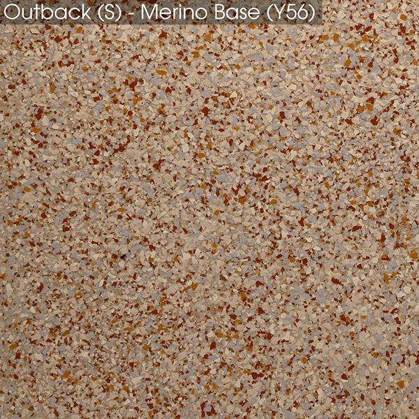 Epoxy - Ultraflake - Outback on Merino base