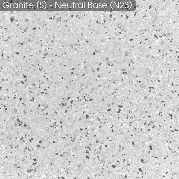 Epoxy - Ultraflake - Graphite on Neutral