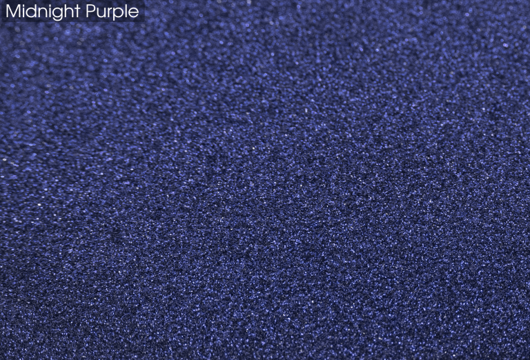 Epoxy Glitter Flooring - Midnight Purple
