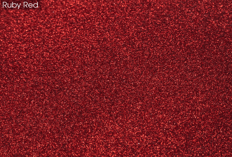 Epoxy Glitter Flooring - Ruby Red